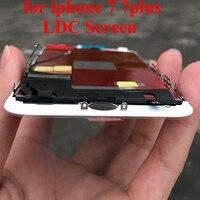 Оригинальный смартфон Запчасти для iPhone 7 Plus ЖК дисплей с 3D Сенсорный экран цифровой сборки Замена Дисплей
