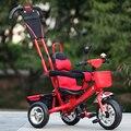 Bicicleta del niño divertidos deportes al aire libre paseo en triciclo bebé bicicleta cochecito infantil cochecito de paseo en cars toys toys