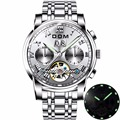Механические Спортивные часы DOM  мужские водонепроницаемые часы  брендовые Роскошные модные наручные часы  M-75D-7M