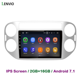 Lenvio 2G RAM Android 7.1 CAR DVD GPS Navigation Player For VW Volkswagen Tiguan 2013 2014 2015 Stereo Radio multimedia DAB+ IPS
