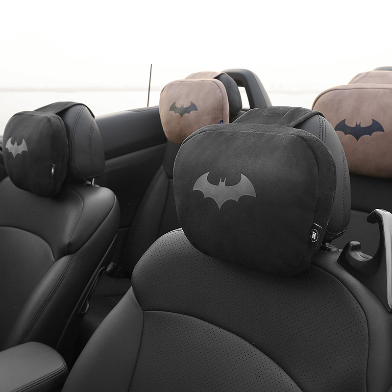 Marvel Cartoon Maybach Car Headrest Pillow For The Neck Pillows Batman For Chairs In The Car Seat Pillow Soft Auto Accessories