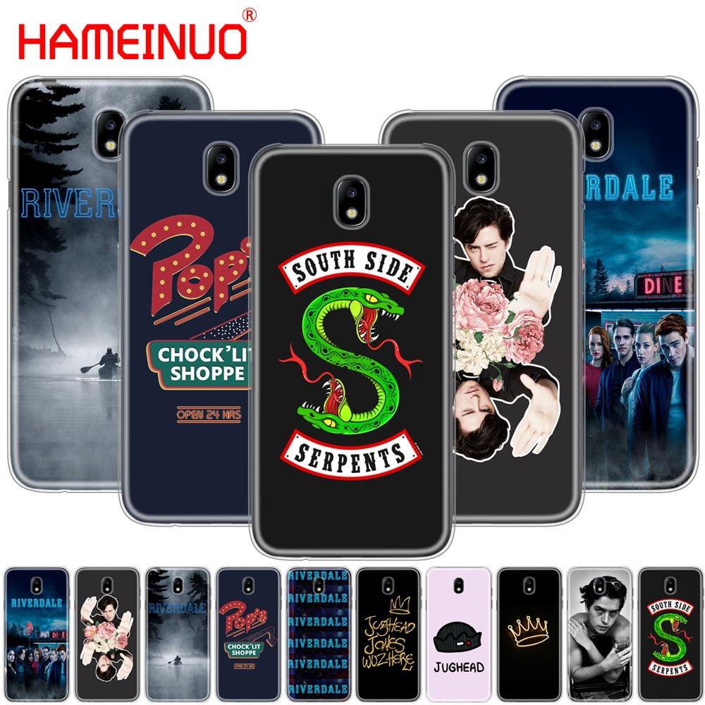 Galleria fotografica HAMEINUO Riverdale pop's south side JUGHEAD cover phone case for Samsung Galaxy J3 J5 J7 2017 J527 J727 J327 J330 J530 J730 PRO