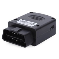 Easy install OBD Vehicle GPS Tracker Real Time with SOS, over speed alert, remote monitoring, movement,shaking sensor alert
