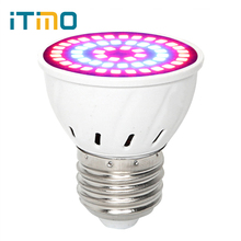 iTimo E27 LED Growth Lamp For Indoor Or Desktop Plants 36Leds 54Leds 72Leds Greenhouse Plant Grow Light AC 220V Full Spectrum