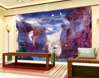 Custom 3d Landscape Wallpaper For Walls 3 D Photo Creative 3D Fairyland Beauty 3D TV