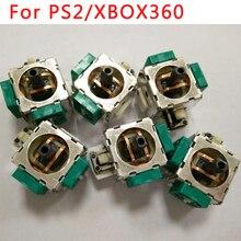 300 יחידות OEM עבור xbox360 wireless controller 3d אנלוגי ג ויסטיק 3D אגודל מקלות כפתור נדנדה עבור PS2 תיקון חלקים