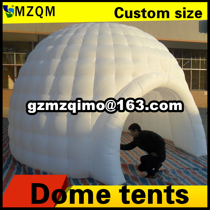 MZQM Newest Design Inflatable Dome Tent Garden Igloo Tent Lighting Inflatable Igloo Dome Tents for Childrens Tents-in Inflatable Bouncers from Toys ... & MZQM Newest Design Inflatable Dome Tent Garden Igloo Tent Lighting ...