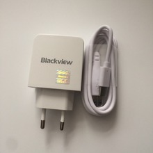 Blackview P2 New Original Travel Charger + USB Type-C Cable For MTK6750T Octa Core 5.5 FHD 1920x1080 Free Shipping
