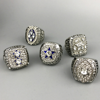 Fast Delivery For US Businessman 1971 1977 1992 1993 1995 Super Bowl Silver Dallas Cowboys Championship