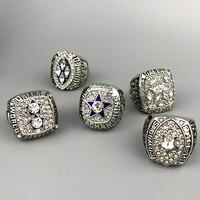 Fast Delivery For US Businessman 1971 1977 1992 1993 1995 Super Bowl Silver Dallas Cowboys Championship