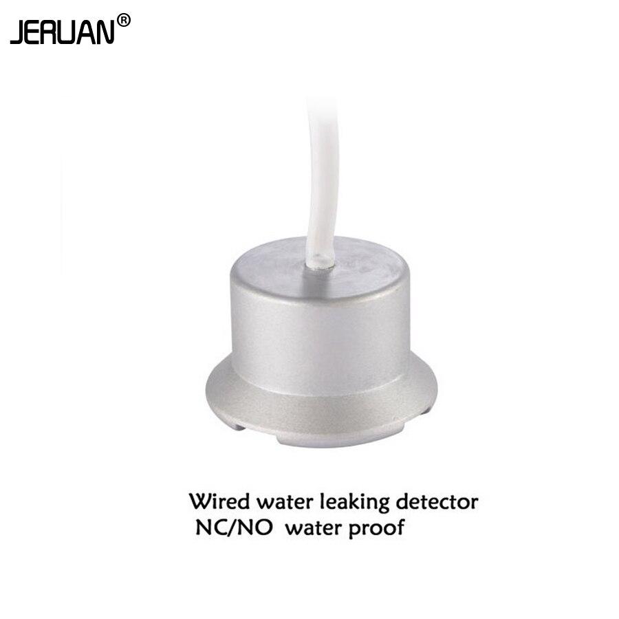 bilder für JERUAN wasserdichte metall Wasser undichte gasleckdetektor flüssigkeit überlauf sensor perfekte sensor für alarmanlage verdrahtet und NO/NC singnal