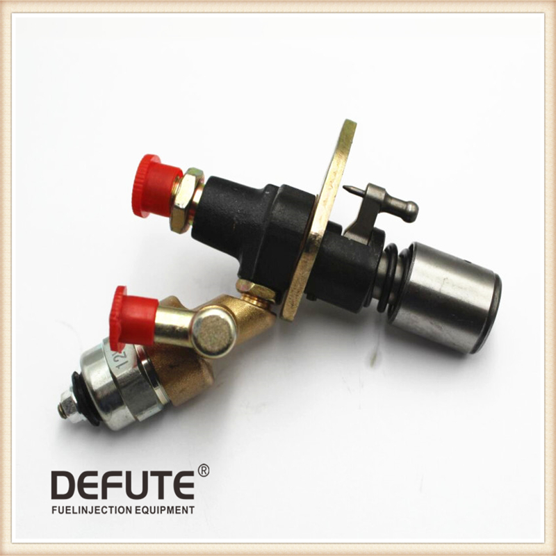 цена на Fuel Injector Injection Pump with Solenoid 170F 178F 186FA 188F 192F fule pump with electromagnetic valve