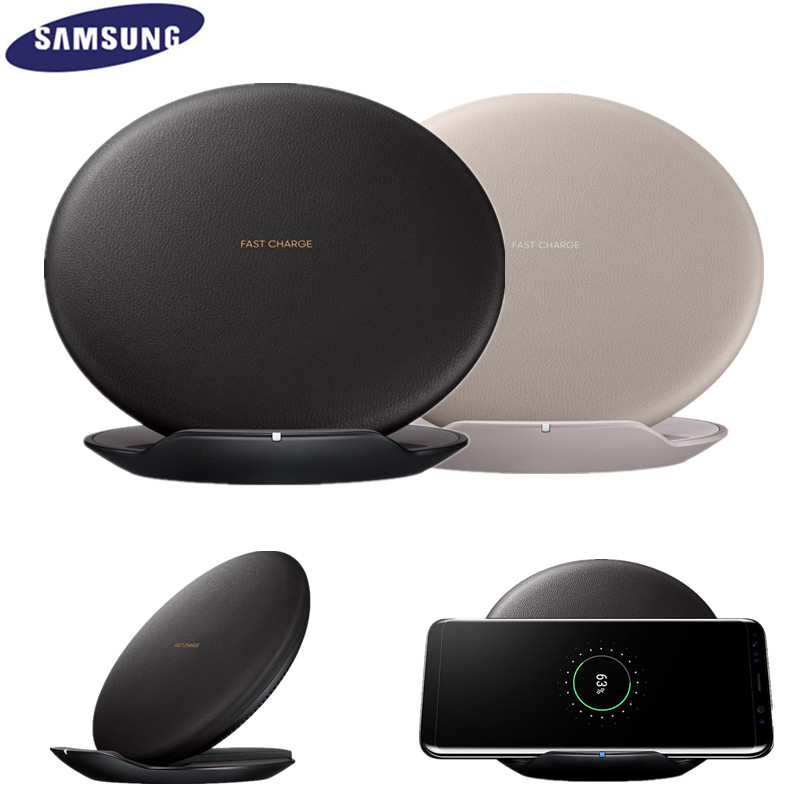 Original Samsung Fast Wireless Charger Qi Smart Quick Charge For Galaxy S8 S9 S10 Plus S6 S7/iPhone X XR XS 8 MAX/EP-NG930