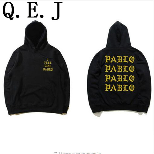 Q.E.Jstreetwear hip hop kanye west black/white/pink hoodie fashion killa brand clothing skate sweat Assc anti social social club