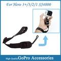 Black Adjustable Quick Release Camera Cuff Wrist Strap For Go pro Hero 3 +/ 3 /2 /1 sj4000 Gopro Accessories