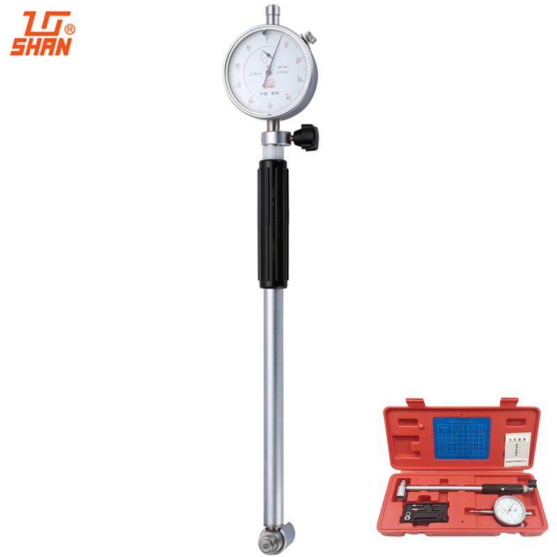 SHAN Dial Bore Gauge 35-50mm/0.01 Dial Indicator Micrometer Cylinder Internal Bore Measuring Engine Gauge shan dial bore gauge 50 160mm 0 01mm metric cylinder internal bore measuring gage dial indicator measuring tools