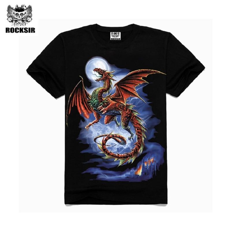 Pas Dragon Cherrock Casual 3d Chemises Fly Homme SirMode Imprimé 2W9HEDI