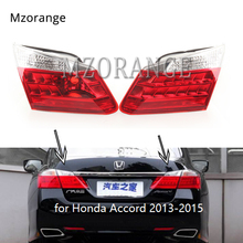 MIZIAUTO Inner Tail Light NO bulbs for Honda Accord 2013-2015 Tail Lamp Inside Stop Light Brake Lamp Tail Rear Light Assembly for chery a3 sedan reversing light rear tail lamp assembly brake light lamp tail light assembly