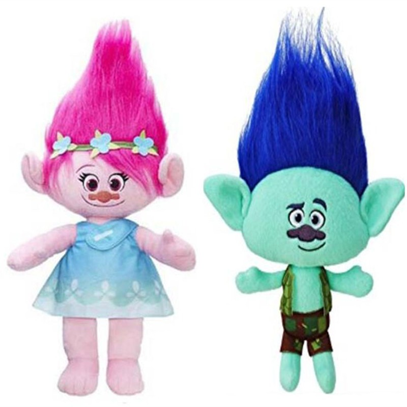 2Styles-Trolls-Plush-Toy-Stuffed-Cartoon-Dolls-Christmas-children-gift