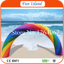 Free Shipping Best Quality Inflatable Rainbow Arch,Inflatable Advertisement Arch On Sale