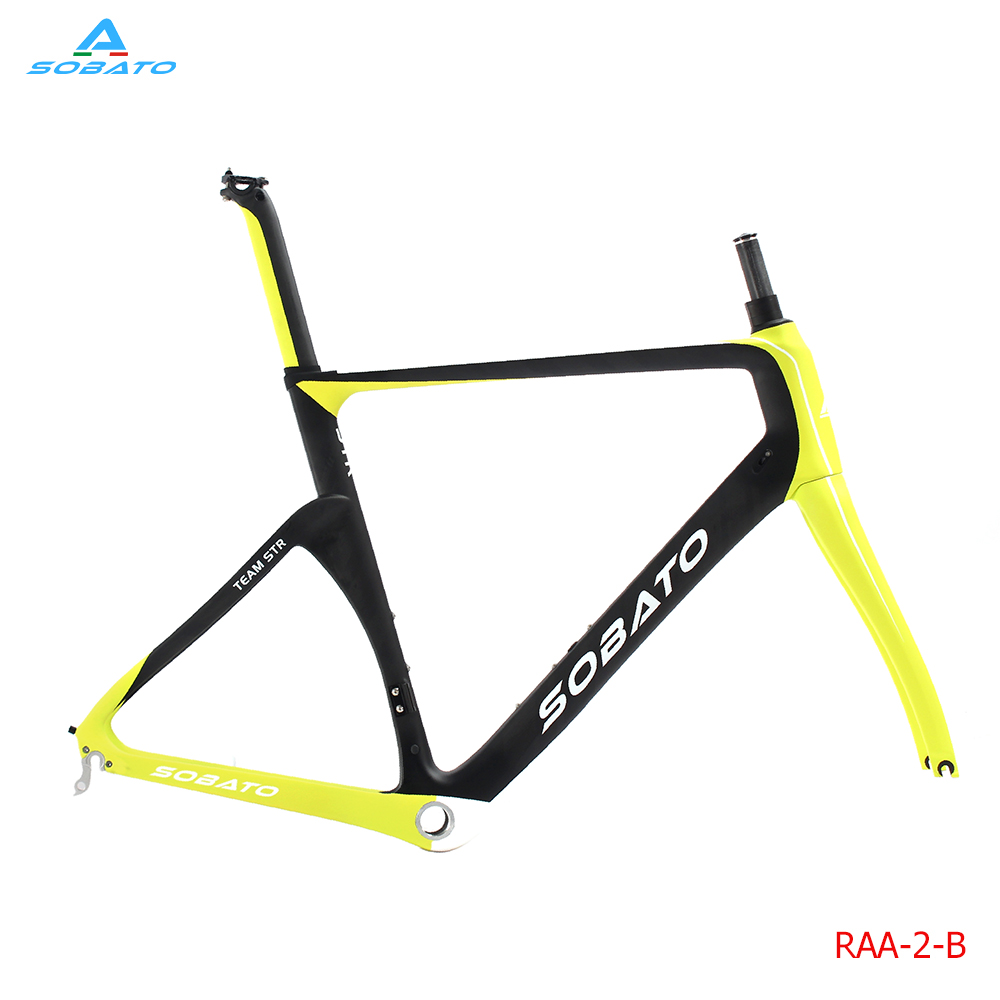 SOBATO Newest paint design 2016 Road Bike Carbon Frame Fork,Headset,Seatpost ,Seat Clamp . road bicycle Toray T800 carbon Frames og evkin bike top selling road carbon bike frame fork seatpost clamp headsetud weave customized carbon frame
