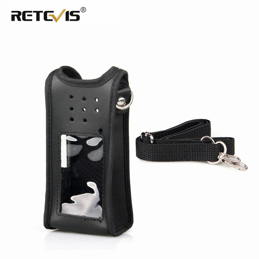 Customized Walkie Talkie Holster Leather Carrying Holder Case For Ailunce HD1/Retevis RT29 DMR Ham Radio Accessories J9131H