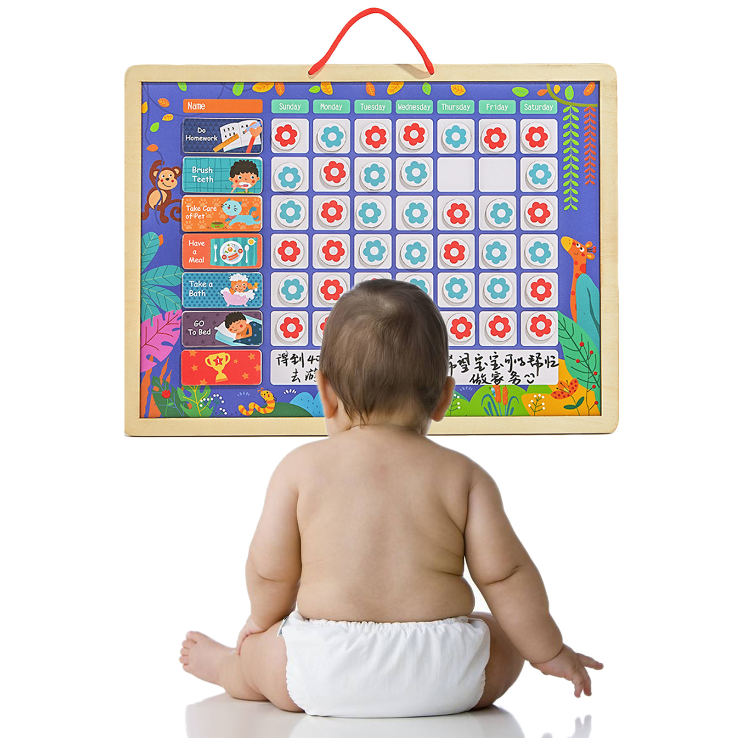 Besegad Magnetic Reward Activity Responsibility Chart Calendar Schedule Educational Learning Toys for Kids Children Target BoardBesegad Magnetic Reward Activity Responsibility Chart Calendar Schedule Educational Learning Toys for Kids Children Target Board