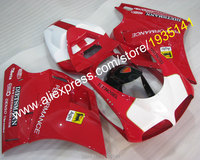 Hot Sales, Motorcycle Bodywork parts For Ducati 996 748 DUCATI 748 996 1996 2002 ABS Fairing set 96 98 0002 (Injection molding)