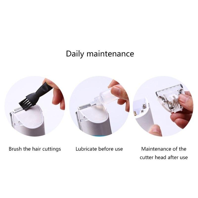 Famille coupe de cheveux Helpper USB Rehargeable faible bruit électrique tondeuse à cheveux automatique tondeuse pour enfant adulte Salon - 4