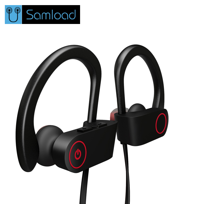 Samload S2 Sport Bluetooth Earphone Wireless Headphone Bluetooth Headset Stereo Super Bass Earbuds With Microphone for Running headset 4 1 wireless bluetooth headphone noise cancelling sport stereo running earphone fone de ouvido for xiaomi iphone huawei