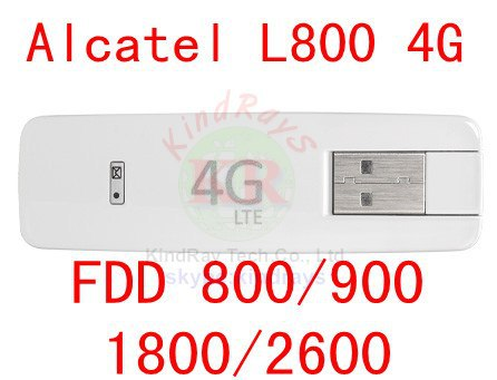 Unlocked Alcatel One Touch L800 3g 4g USB Modem 4G USB stick dongle Alcatel L800 pk