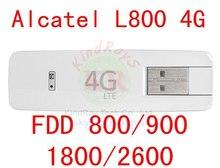 Разблокировать Alcatel One Touch L800 3 г 4 г USB Модем 4 Г USB stick ключ Alcatel L800 w800 y800 y853 pk l100