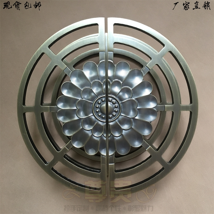 Безрамные стеклянные двери ручка дверная ручка Китайский античная бронза двери половины руки