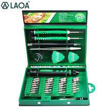 LAOA 38ใน1ไขควงชุดไขควงชุดBitแล็ปท็อปซ่อมโทรศัพท์มือถือชุดเครื่องมือสกรูที่แม่นยำDriver Handเครื่องมือ