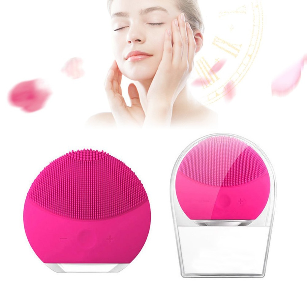 Luna mini2 T-sonic Silicone Cleansing Device Blackhead Acne Removal Rechargeable Electric Facial Cleaner Beauty Instrument