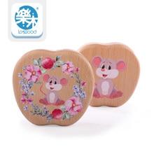 Baby Teeth box Save MILK TEETH organizer Storage Montessori Education Creative toys Wooden tooth fairy for Children gifts
