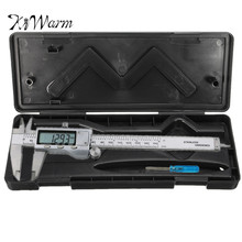 Sale KiWarm Box Case for 150mm 6 inch Stainless Electronic Digital Vernier Caliper Micrometer Guage Storage Sewing Accessories Tool
