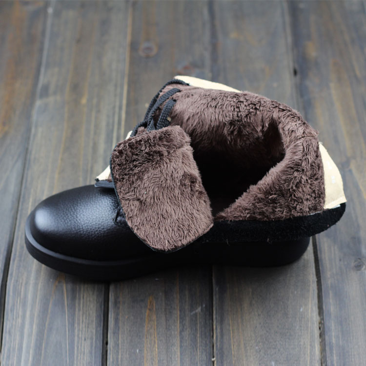 0b0879f99f09 Careaymade Winter round with velvet japanese Mori girl boots