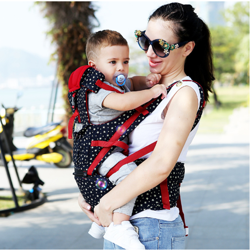 New Upgraded baby carrier 360 Infant kids Breathable kangaroo bag 0-36 months baby carrier Sling Backpack Pouch Wrap baby care hot sell infant sling comfort baby 0 30 months breathable front facing baby carrier multifunctional infant kangaroo bag