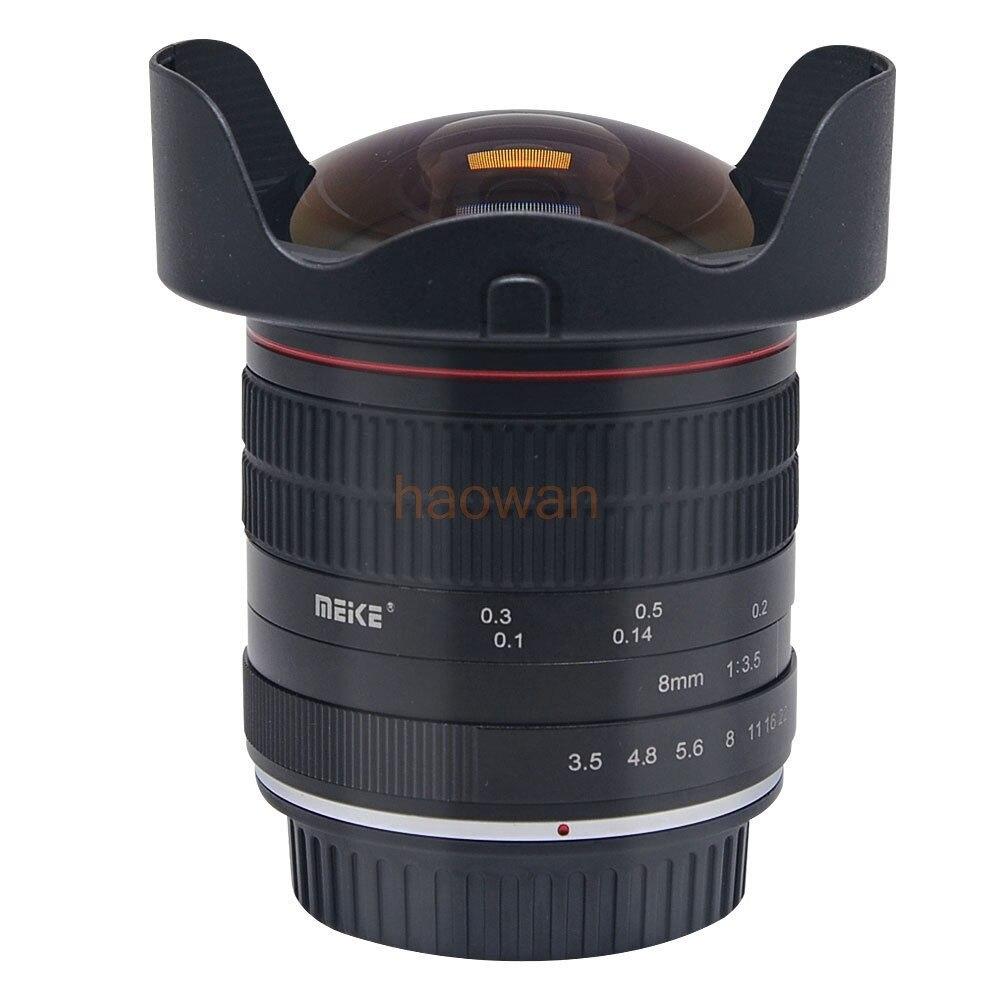 8mm F/3.5 F3.5 Grand angle LENTILLE Fisheye pour canon 5d3 6d 7d 60d 80d 650d 750D nikon d750 d90 d7100 d700 d300 d5200 appareil photo reflex numérique