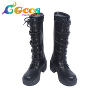 Free Shipping Cos Cosplay Shoes Underworld: Blood Wars Selena Shoes Boots Halloween Christmas Party
