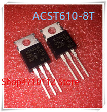 NEW 10PCS/LOT ACST610-8T ACST6108 TO-220 IC