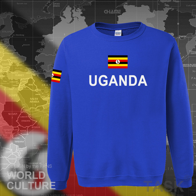 Uganda Ugandan hoodies men sweatshirt sweat new hip hop streetwear tracksuit nation clothing sporting country flag UGA Uganda 2