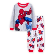 Детские пижамные комплекты, одежда для сна с принтом животных для мальчиков, Семейные пижамы для девочек, детская одежда для сна, пижамы для малышей, YW271