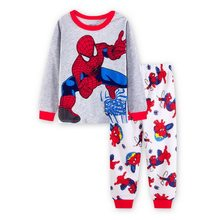 Children pajamas sets boys cartoon Animal print nightwear girls family pajamas kids Clothes sleepwear baby pyjamas YW271(China)