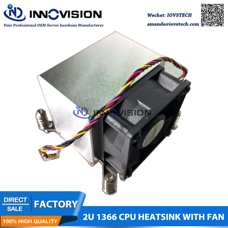 New CPU Cooler Processor Socket 1366 for 2U server цена