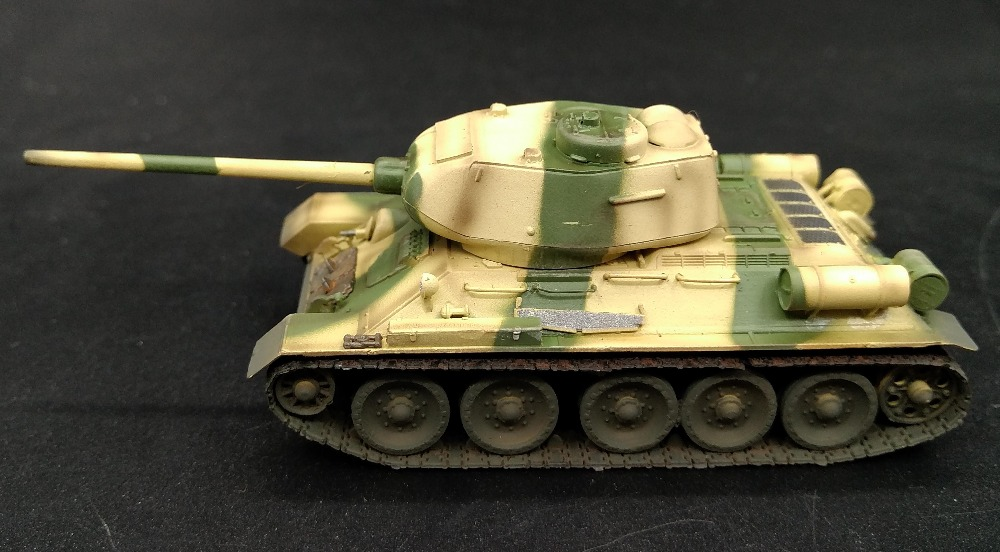 EM 1:72 Soviet <font><b>tank</b></font> <font><b>model</b></font> <font><b>T34</b></font>-85 Iraqi army 36273 Favorites <font><b>Model</b></font> image