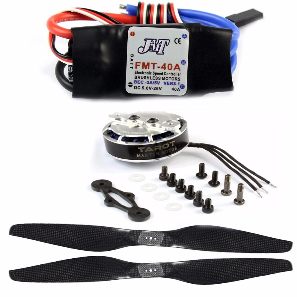 DIY Drone Set ZD850 Frame Kit with Landing Gear 620KV Motor 40A Brushless ESC Propellers XT60 Plug +Hub for RC 6-axle Hexacopter