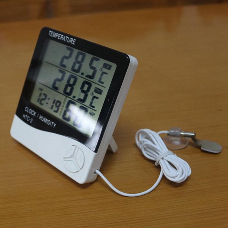 Ketotek Termómetro digital Higrómetro LCD electrónico Medidor de - Instrumentos de medición - foto 2