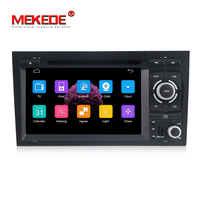 Free Shipping 7 Car radio For AUDI A4 S4 RS4 2002 2008 car dvd player with GPS Radio Bluetooth CANBUS ipod Free 8GB map card